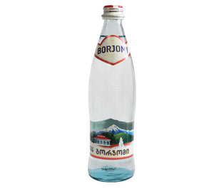 Вода минеральная природная питьевая лечебно-столовая гидрокарбонатная натриевая газированная ТМ Borjomi (Боржоми)
