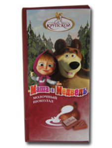 Шоколад молочный ТМ Маша и Медведь
