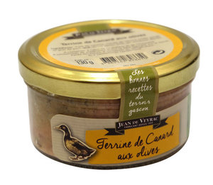 Паштет из утки с оливками ТМ Жан дэ Вейрак