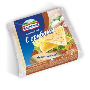 Сыр плавленый c грибами ТМ Hochland (Хохланд)