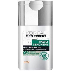 Гель после бритья Men Expert (Мэн Эксперт) Гидра Сенситив с березовым соком для чувствительной кожи ТМ L'Oreal Paris (Л'Ореаль Париж)