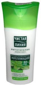 Бальзам-ополаскиватель для всех типов волос, укрепляющий Фитотерапия, крапива ТМ Чистая линия
