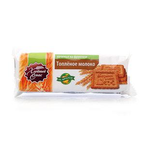 Печенье на фруктозе Топленое молоко ТМ Хлебный Спас