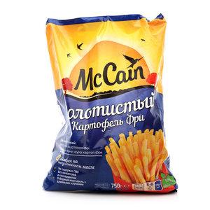 Картофель фри золотистый ТМ McCain (МакКейн)