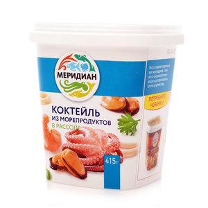 Коктейль из морепродуктов в рассоле ТМ Меридиан