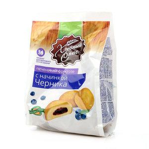 Печенье на фруктозе с начинкой Черника ТМ Хлебный Спас