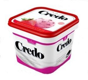 Мороженое пломбир клубничное суфле  TM Credo (Кредо)