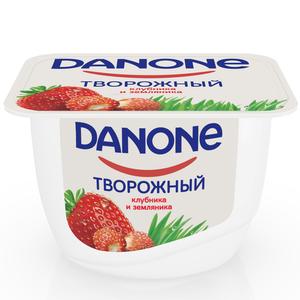 Творожок с клубникой и земляникой Данон ТМ Danone (Данон)