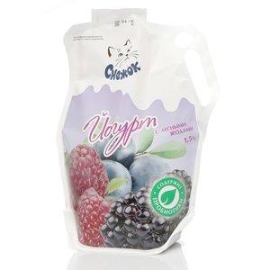 Йогурт питьевой с лесными ягодами 1,5% ТМ Снежок