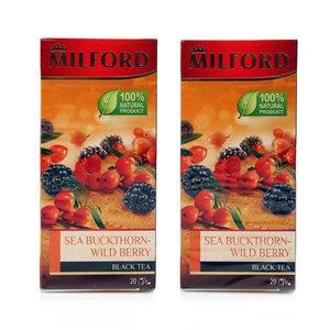 Чай черный облепиха-лесные ягоды ТМ Milford (Милфорд)