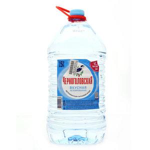 Вода питьевая артезианская негазированная ТМ Черноголовская