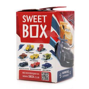 Мармелад жевательный со разными вкусами и подарком в наботе Тачки ТМ Sweet Box (Свит Бокс)