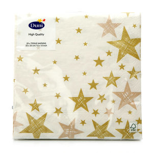 Салфетки звезды ТМ Duni (Дюни)