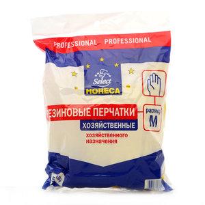 Резиновые перчатки хозяйственные размер M ТМ Horeca (Хорека)