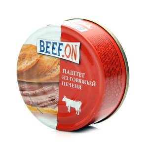 Паштет из говяжьей печени ТМ Beef On (Биф Он)