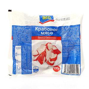 Крабовое мясо замороженное ТМ Aro (Аро)