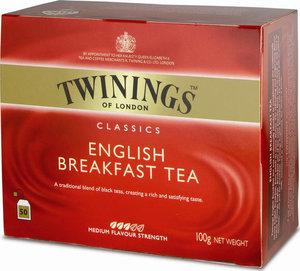 Чай черный English Breakfast Tea 50*2г ТМ Twinings (Твинингс)