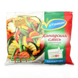 Смесь овощная Канадская замороженная ТМ Vитамин (Витамин)