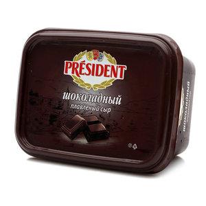 Шоколадный плавленый сыр ТМ President (Президент)