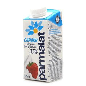 Сливки ультрапастеризованные 35% ТМ Parmalat (Пармалат)
