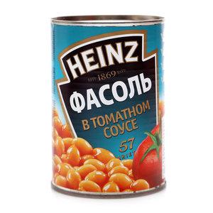 Фасоль белая в томатном соусе ТМ Heinz (Хайнц)