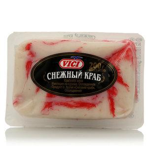 Крабовое мясо Снежный краб (имитация из сурими) ТМ Vici (Вичи)