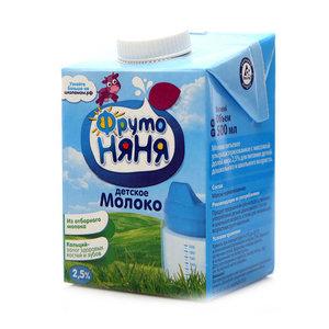 Молоко для детей 2,5% ТМ Фрутоняня