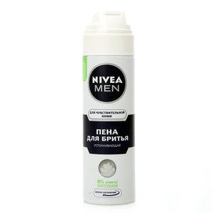 Пена для бритья для чувствительной кожи ТМ Nivea Men (Нивея Мен)