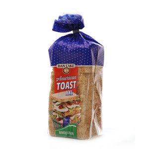 Хлеб пшеничный цельнозерновой American toast XXL Wholegrain ТМ Dan Cake (Дан Кейк)
