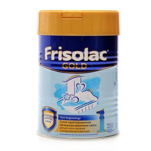 Сухая молочная смесь с рождения до 6 месяцев TM Frisolac gold (Фрисолак голд)