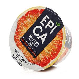 Йогурт натуральный с красным апельсином 4,8% ТМ Epica (Эпика)