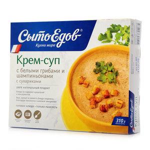 Крем-суп с белыми грибами и шампиньонами серия Крем-суп ТМ СытоЕдов