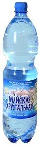 Вода минеральная питьевая газированная ТМ Майская хрустальная