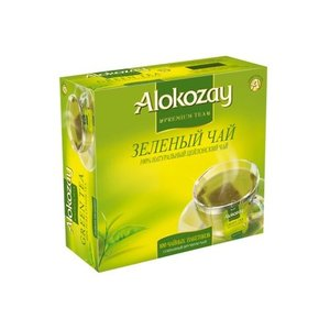 Чай зелёный 100*2г  ТМ Alokozay (Алокозай)