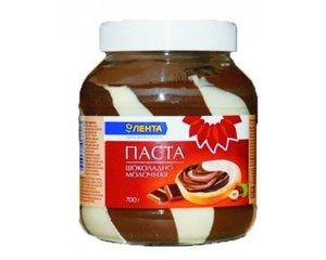 Паста шоколадно-молочная ТМ Лента