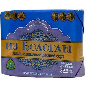 Масло сливочное традиционное 82,5% ТМ Из Вологды