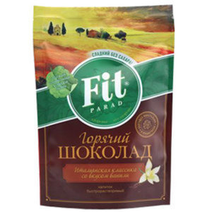 Напиток быстрорастворимый Горячий шоколад с ванилью ТМ Fit parad