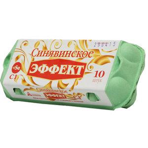 Яйцо куриное Эффект+Sе С1 ТМ Синявинское, 10 штук