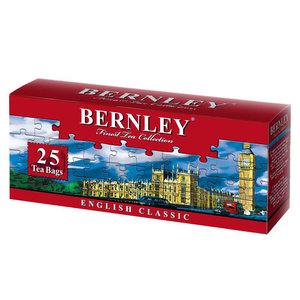 Чай черный English Classic (Инглиш Классик) в пакетиках 25шт ТМ Bernley (Бернли)